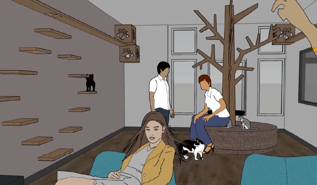 How Adopting a Furry Friend Turned into the Dream of a Kitty Café